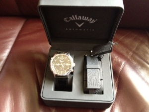 Calaway Watch courtesy of Golf Central